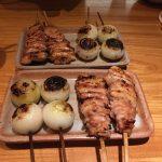 ミシュラン一つ星掲載店で人気店でもある「とり喜」で焼き鳥を食べました~!